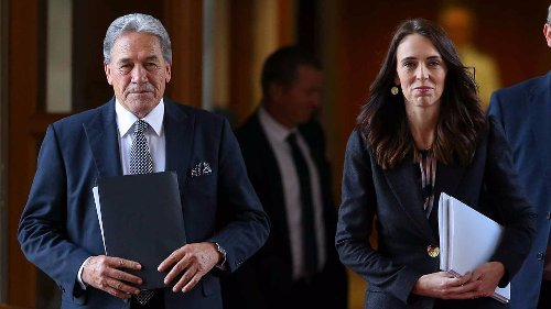'It takes all kinds in politics' - PM grins after question about Winston Peters' NZ First comeback speech