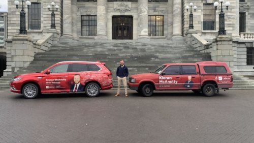 Labour's McAnulty swapping famous red ute for hybrid wagon