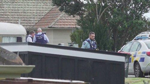 Large police presence near Auckland marae