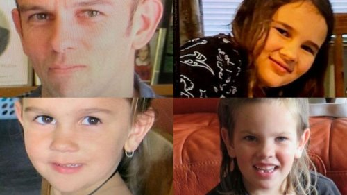 Search for missing man, three children into fifth day