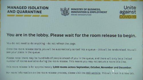 Thousands of prospective Kiwi returnees log into MIQ website after quarantine spots released