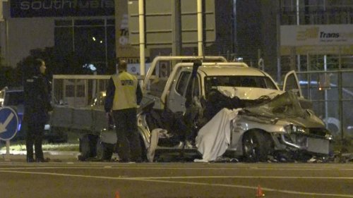 Emergency services attend fatal crash scene in Christchurch