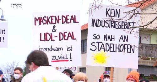Stadelhofen: Widerstand gegen ein neues Lidl-Logistikzentrum