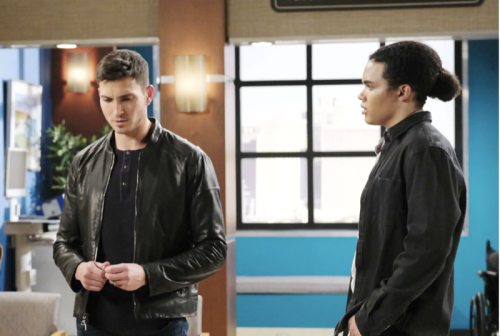 Days of our Lives (DOOL) Spoilers: Ben's Dangerous Behavior Toward Ciara Prevented by Theo