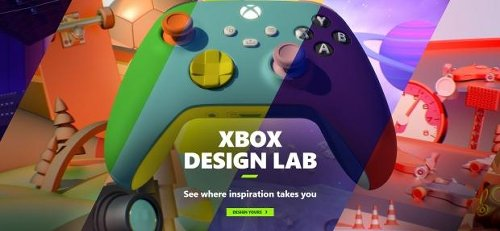 Xbox Design Lab is back for new Xbox controllers