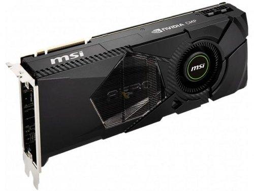 MSI's new CMP 50HX MINER GPU: 3584 CUDA cores, 10GB GDDR6 memory