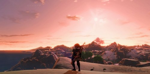 Legend of Zelda: Breath of the Wild running in 8K + ray tracing = WOW
