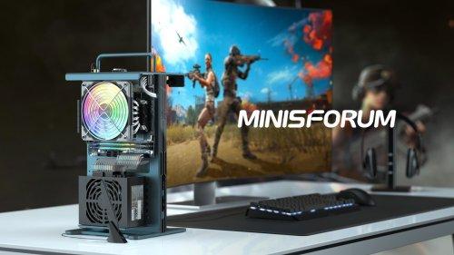 This ultra-compact PC has open air chassis, AMD Ryzen CPU + Radeon GPU
