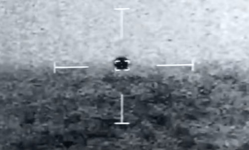 US Navy captures 'spherical' UFO on video disappearing into the ocean