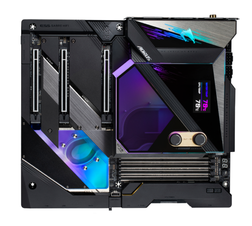 GIGABYTE Z590 AORUS Xtreme Waterforce motherboard costs insane $1600