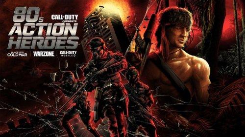 80s stars Rambo, John McClane coming to Warzone, Black Ops, COD Mobile