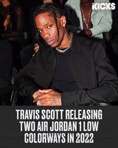 More Jordan 1 Lows from Travis Scott...