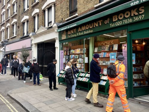 Readers on the bookshops they miss most: 'I can't wait to take my lockdown baby!'