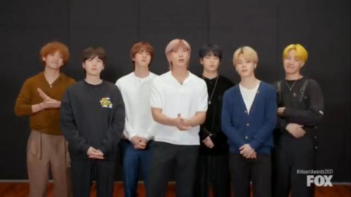 BTS Army Reacts To BTS' Best Fan Army Win At 2021 iHeartRadio Music Awards | iHeartRadio