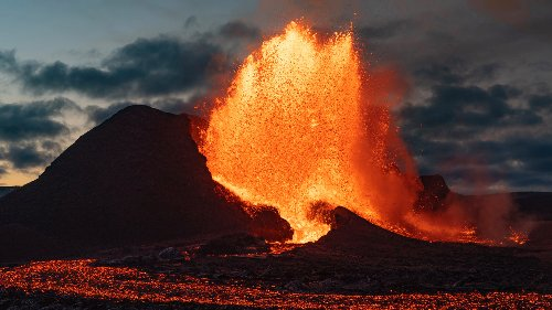 Photos: Icelandic volcanic eruption a 'wonder of nature'