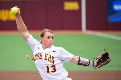 Gophers softball team starting to play like it means business