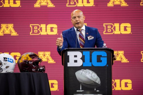 """Iowa's timeouts in 2020 win over Gophers 'didn't offend me one bit,"""" P.J. Fleck said"""
