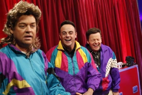 Ant and Dec pull off iconic 80s look while discussing their crushes