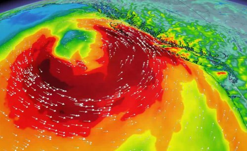 'Weather bomb' shaping up off B.C. coast, will bring rain and strong winds
