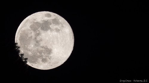 Eyes to the sky tonight for the Super Pink Moon