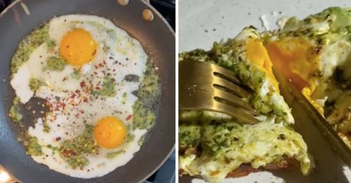 Green Pesto Eggs Are The New TikTok Food Trend You Need To Try
