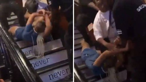Nellie's Sports Bar: Video Shows Staff 'Dragging Woman Down The Stairs By Her Hair'