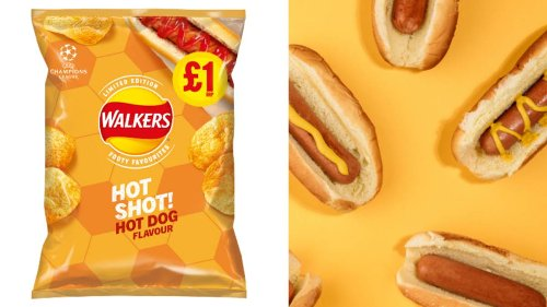 Walkers Launches New Limited Edition Hot Dog And Chicken Tikka Masala Flavoured Crisps