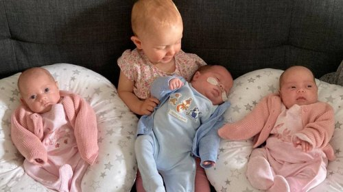 Woman Gives Birth To Four Babies In Less Than A Year