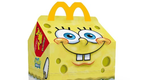 McDonald's Is Introducing A Spongebob SquarePants Happy Meal