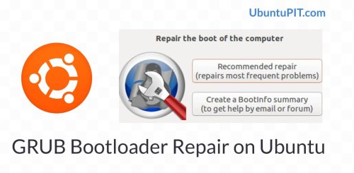 How To Repair the GRUB Bootloader Using A Ubuntu Live USB Drive