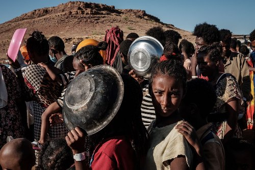 Pope pleads for food aid in Ethiopia's Tigray region