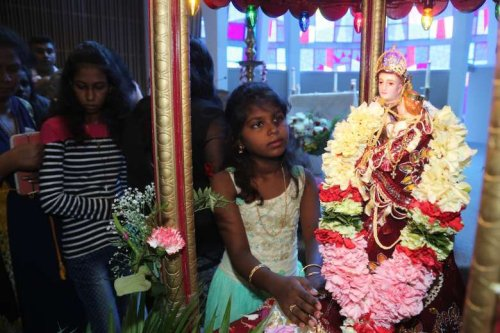 Sri Lankan Catholics celebrate St. Anthony's feast remotely