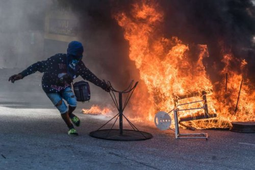 Haitian bishops' Mass for freedom turns violent