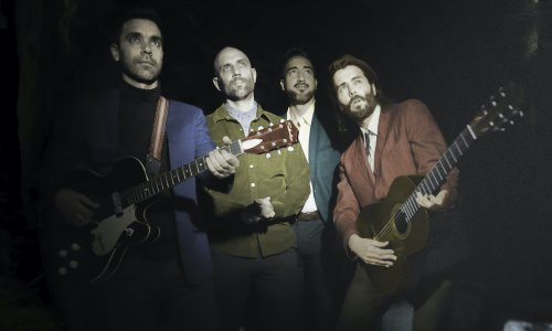 Watch Lord Huron Conjure Up 'Mine Forever' From Their 'Haunted' Studio