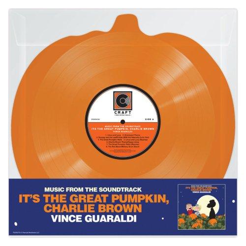 It's The Great Pumpkin, Charlie Brown' OST Set On Pumpkin-Shaped Vinyl
