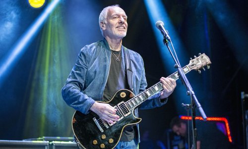 Watch Peter Frampton Band's Video For George Harrison's 'Isn't It A Pity'