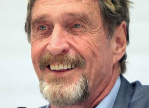 Late Multimillionaire John McAfee Lost All His Money Building 'Bizarre' Mansions