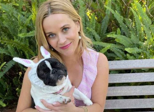 Reese Witherspoon Channels Elle Woods For Her Dog's First Easter