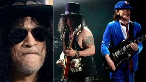 GN'R's Slash Shares Opinion On Angus Young, Talks How AC/DC Treated Him When He Was Opening Act [News]