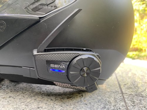 Sena Spider ST1 Review: Motorcycle Communications via Mesh