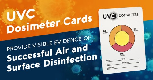 UVC Dosimeter Cards Now Sold by Atlantic Ultraviolet