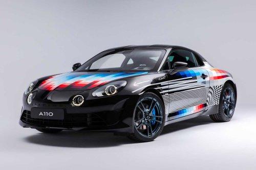 Alpine x Felipe Pantone A110 Coupe