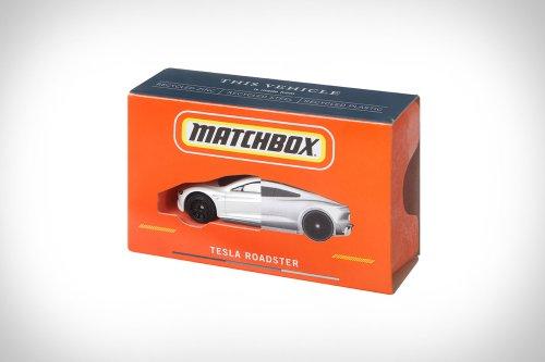 CarbonNeutral Matchbox Tesla Roadster