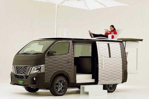 Nissan Caravan Office Pod Concept