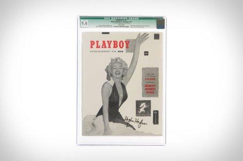 Hugh Hefner-Signed Playboy Issue #1