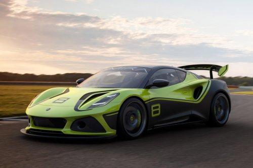 Lotus Emira GT4 Race Car Concept