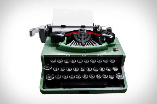 Lego Vintage Typewriter