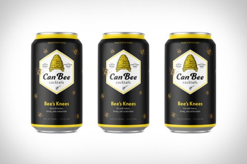 CanBee Bee's Knees Canned Cocktail