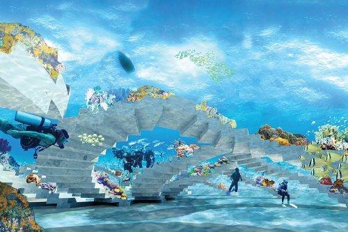 The Reefline Underwater Sculpture Park