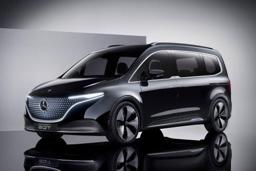 Mercedes-Benz EQT Concept Van